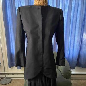 EUC black Christian Dior vintage suit